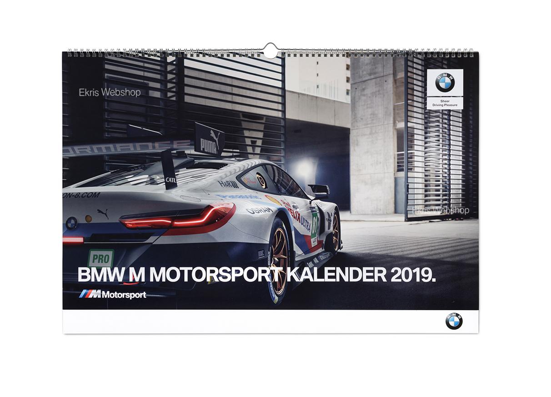 2019 kalender bmw motorsport. Black Bedroom Furniture Sets. Home Design Ideas